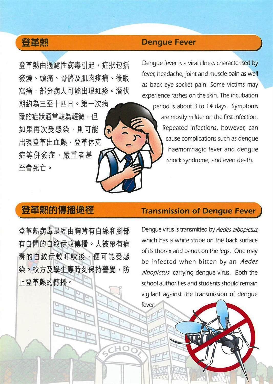 小心登革熱  齊來把蚊滅  Beware of Dengue Fever